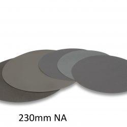 Abrasive paper withou glue